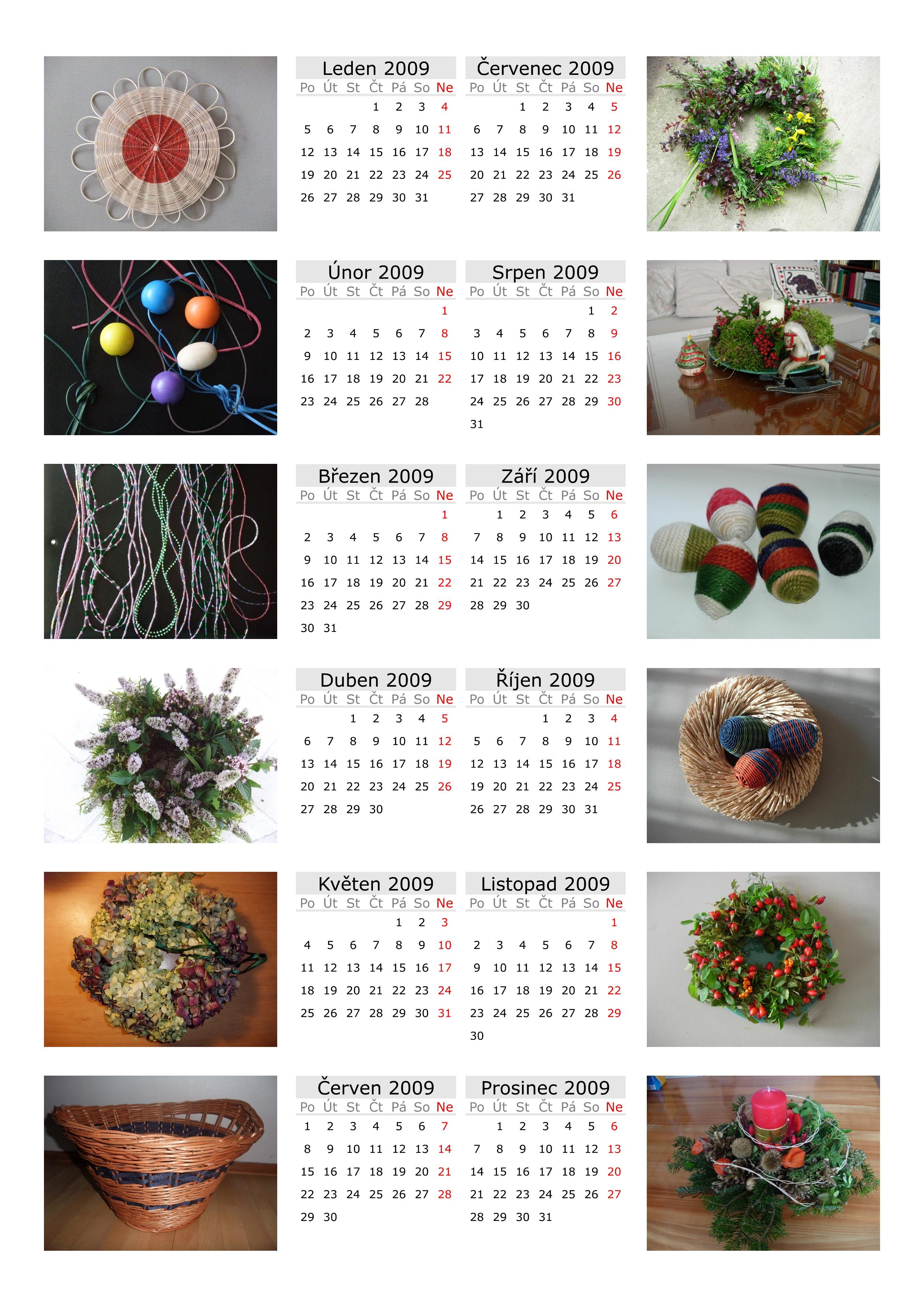 Kalendar 2009